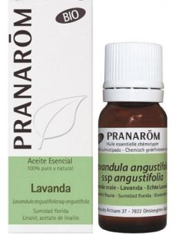 ACEITE ESENCIAL DE LAVANDA BIO 100% PURO Y NATURAL DE PRANAROM
