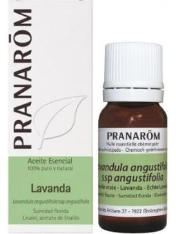 ACEITE ESENCIAL DE LAVANDA 100% PURO Y NATURAL DE PRANAROM