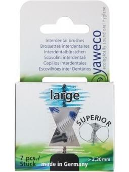 KIT RECAMBIO CEPILLOS INTERDENTALES GRANDE - LARGE 2,30 MM DE YAWECO