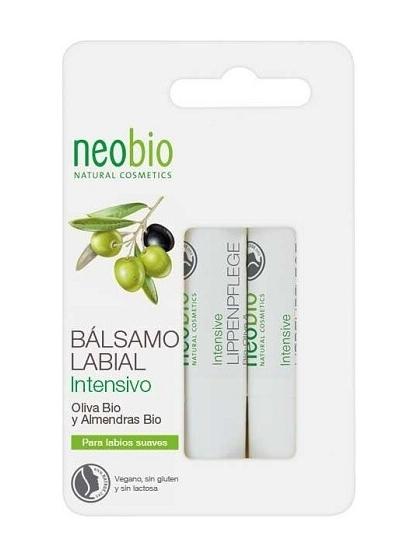 BALSAMO LABIAL NATURAL BIO TRATANTE DUPLO ALOE VERA Y OLIVA NEOBIO