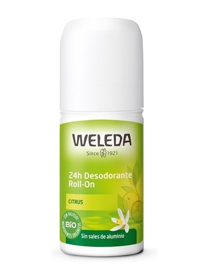 DESODORANTE ROLL-ON 24 HORAS CITRUS BIO DE WELEDA
