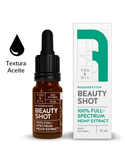 BEAUTY SHOT 07 100% EXTRACTO DE CAÑAMO ESPECTRO TOTAL CALMANTE YOU&OIL