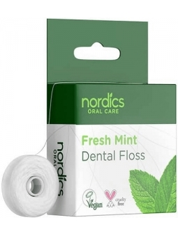 HILO DENTAL CON MENTA FRESCA FRESH MINT DE NORDICS