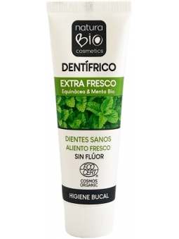DENTIFRICO EXTRA FRESCO SIN FLUOR EQUINACEA-MENTA NATURABIO COSMETICS