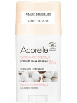 DESODORANTE EN STICK ALGODON PARA PIEL SENSIBLE DE ACORELLE