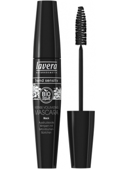 MASCARA DE PESTAÑAS VOLUMEN INTENSO INTENSE VOLUMIZING BLACK DE LAVERA