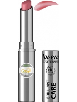 BARRA DE LABIOS BRILLANTE 03 ORIENTAL ROSE GREEN Q10 COMPLEX DE LAVERA