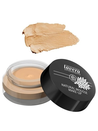 MAQUILLAJE EN CREMA NATURAL MOUSSE 03 HONEY DE LAVERA