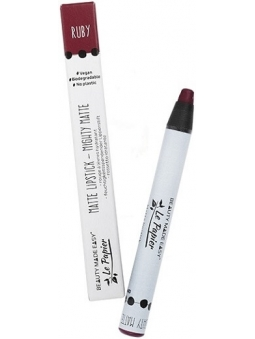 LAPIZ DE LABIOS MIGHTY MATTE RUBY LE PAPIER DE BEAUTY MADE EASY