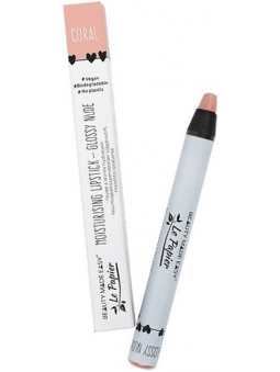 LAPIZ DE LABIOS NUDE BRILLO CORAL LE PAPIER DE BEAUTY MADE EASY