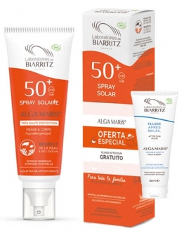 SPRAY PROTECTOR SOLAR CARA-CUERPO SPF 50+(150ML) + AFTERSUN ALGA MARIS