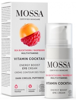 CREMA CONTORNO DE OJOS ENERGY BOOST VITAMIN COCKTAIL DE MOSSA