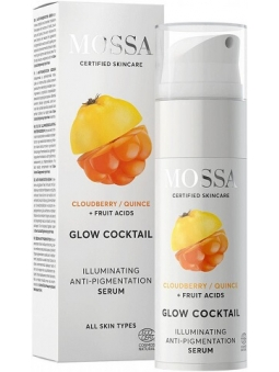 SERUM FACIAL ILUMINADOR ANTIMANCHAS GLOW COCKTAIL DE MOSSA