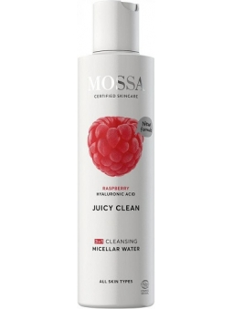 AGUA MICELAR 3 EN 1 CON ACIDO HIALURONICO JUICY CLEAN DE MOSSA