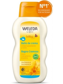 BAÑO DE CREMA DE CALENDULA BIO BEBES DE WELEDA