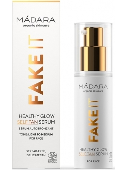 SERUM FACIAL AUTOBRONCEADOR HEALTHY GLOW FAKE IT DE MADARA