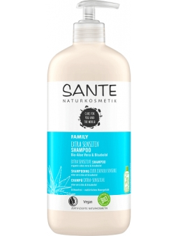 CHAMPU EXTRA SENSITIVE ALOE VERA BIO Y BISABOLOL FAMILY (500 ML) SANTE