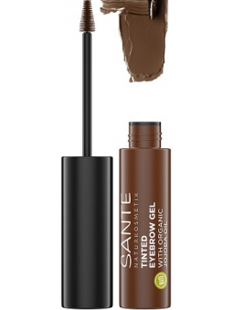 GEL TRATANTE PARA CEJAS TINTED BROW TALENT 02 BROWNIE DE SANTE