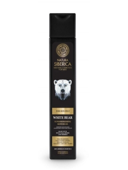 "GEL DE DUCHA SUPER REFRESCANTE ""OSO POLAR"" FOR MEN ONLY DE NATURA SIBERICA HOMBRE"