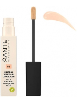 CORRECTOR MINERAL WAKE-UP 01 NEUTRAL IVORY CON ACIDO HIALURONICO SANTE