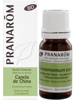 ACEITE ESENCIAL DE CANELA DE CHINA BIO 100% PURO Y NATURAL DE PRANAROM