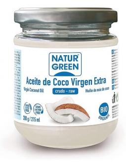 ACEITE DE COCO VIRGEN EXTRA 100% BIO Y NATURAL DE NATURGREEN