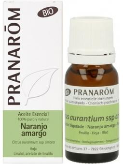 ACEITE ESENCIAL DE NARANJO AMARGO BIO 100% PURO Y NATURAL DE PRANAROM
