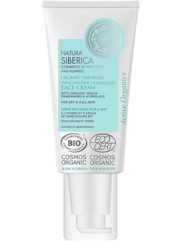 Crema Facial Dia-Noche Vigorizante Piel Seca -Apagada Natura Siberica