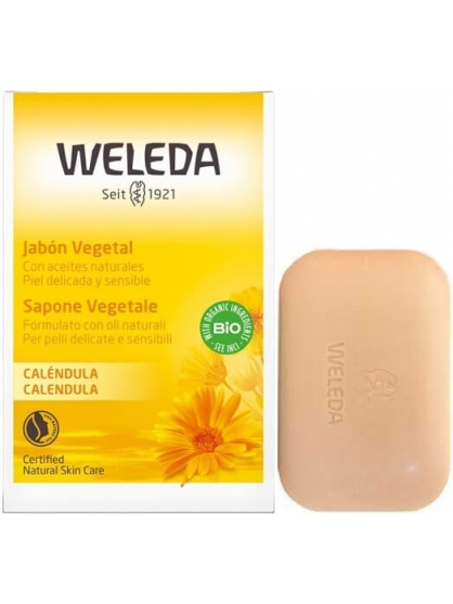 JABON VEGETAL DE CALENDULA BIO DE WELEDA