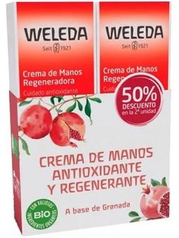 PACK-DUPLO CREMA DE MANOS GRANADA DE WELEDA