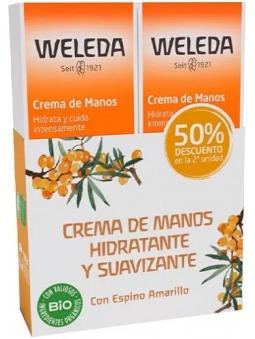 PACK-DUPLO CREMA DE MANOS ESPINO AMARILLO DE WELEDA