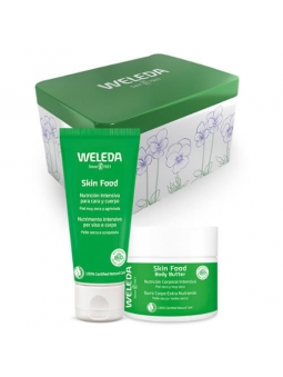 PACK SKIN FOOD CUIDADO INTENSIVO (ORIGINAL Y BODY BUTTER) DE WELEDA
