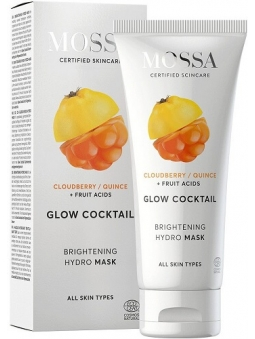 MASCARILLA FACIAL ILUMINADORA ANTIMANCHAS GLOW COCKTAIL DE MOSSA