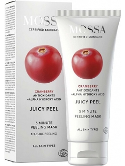 MASCARILLA PEELING FACIAL ANTIOXIDANTE 5 MINUTOS JUICY PEEL DE MOSSA