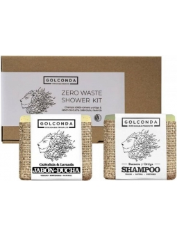 PACK CHAMPU Y JABON DE DUCHA ZERO WASTE SHOWER KIT DE GOLCONDA