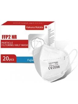 MASCARILLAS FFP2 ADULTO BLANCAS (20 UNID) PROTECTORAS COVID-19