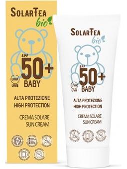 CREMA PROTECTOR SOLAR NATURAL BIO ALTA PROTECCIÓN BEBES SPF50+ SOLAR TEA DE BEMA