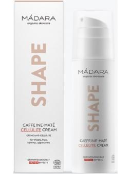 CREMA CORPORAL ANTICELULITICA SHAPE CAFEINA Y TE MATE (150 ML) MADARA