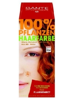 COLORANTE VEGETAL EN POLVO COBRE (FLAME RED) SANTE