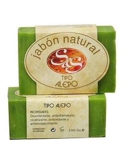 JABON DE ALEPO NATURAL EN PASTILLA SYS