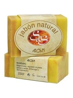 JABON DE ARGAN NATURAL EN PASTILLA SYS