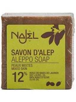 JABON ALEPO 12% BAYAS LAUREL NAJEL