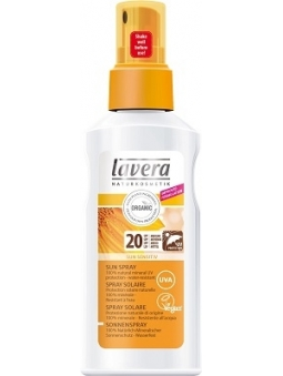 SPRAY PROTECTOR SOLAR NATURAL SUN SENSITIV SPF 20 LAVERA