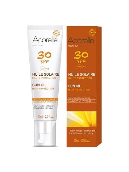 ACEITE SOLAR NATURAL SPF 30 ACORELLE